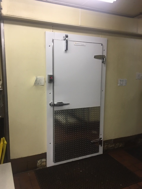 New Crown Tonka Walk in Freezer Door