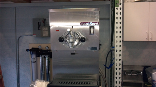 SaniServ Counter Shank Freezer